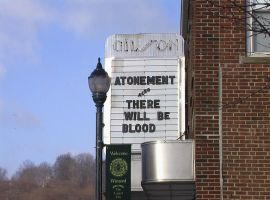 Winchester, CT - Movie Sign by Ovid2345