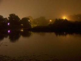Nightscape in Yarmouth by canadianman000