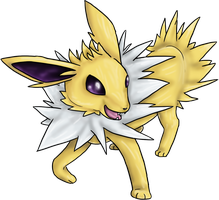 Jolteon by Cinnamon-Quails
