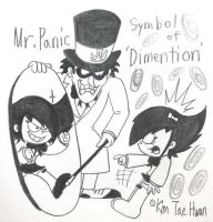 Mr.Panic,Symbol of 'Dimention' by komi114