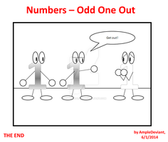 Numbers - Odd One Out by AmpleDeviant