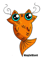 Funny cat adoptable catfish by KingZoidLord