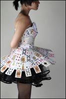 Card Dress III by Betwixt779