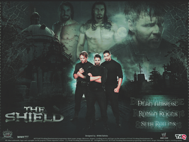 The Shield ~ Wallpaper by MhMd-Batista