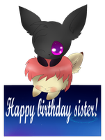 Happy birthday Miss-weavile by snowflake95