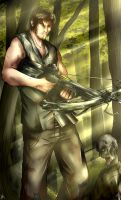 The Walking Dead: Daryl Dixon by Smudgeandfrank
