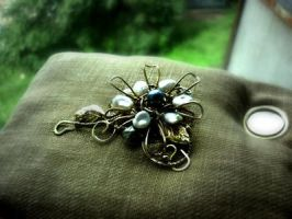 Brooches by DARiyaKUTEPOVA