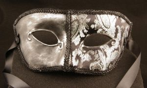 Masquerade Mask-Principe Scuro by EffigyMasks