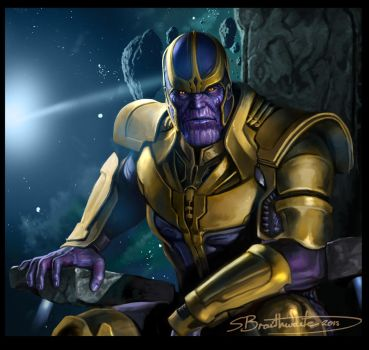 Thanos by SBraithwaite
