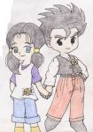 Gohan and Videl HM style by Gohan-x-Videl