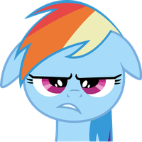 Dashie is unpleased by Chrispy248