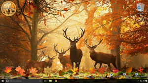 SEPTEMBER DESKTOP SCREENSHOT by DragonsChest
