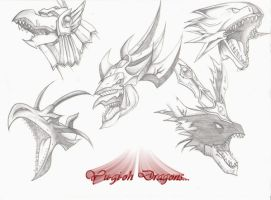 the dragons by polpolpolopl