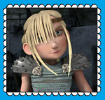 Astrid Fan Stamp by MorkelebTheDragon