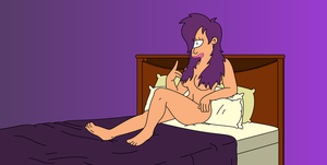 Leela's Second Sexy Pose by Spider-Matt