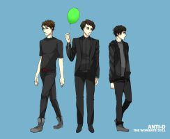 THE WOMBATS ANTI-D by carrienloveyou