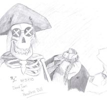 Dead Tom and Headless Bill by M591
