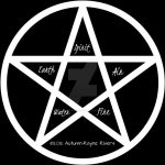 Elements Pentagram by AutumnRayneRivers