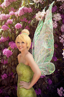 Tinker Bells smile Flower power by N4miine