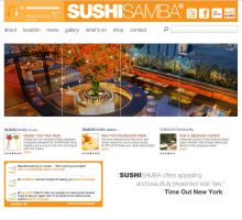 sushi samba london by YANNA-CONCEPT