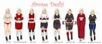 Deshi's outfits by Daashe
