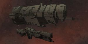 UNSC Ships Colour Test by Obhan