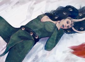 dreaming lady loki by Gregory-Welter