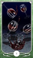 Five of Cups by Shegon