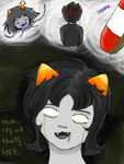 Nepeta Sadstuck by ForeverMuffin