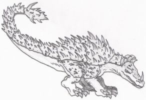 Code Red: Anguirus by DinoHunter2