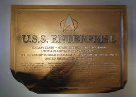 Destroyed Dedication Plaque Prop by Euderion