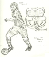 Lionel Messi by stephangomez
