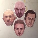 Breaking Bad stickers and magnets by McQuade