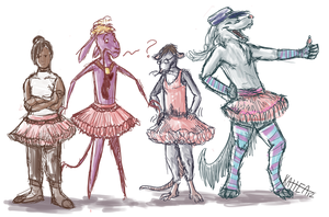 Time for Tutus! by Mongrelistic