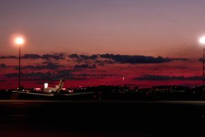 Okecie Airport in the evening by Carrie-Tempest