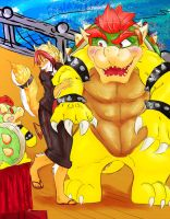 Oh Bowser, look! It's you! by RMPSI