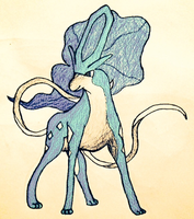 Suicune by ThyWordIsTruth