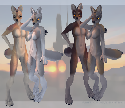 Coyote mod for Second Life by satsukii