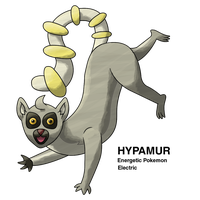 Electric Lemur Fakemon by Ferrari94