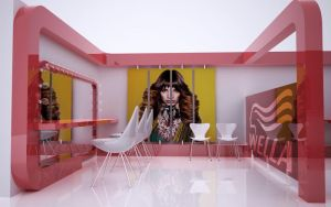 wella hair saloon concept by Aykuts