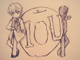 Sherlock_and_Jim_IOU_BEFORE by Sherlocka