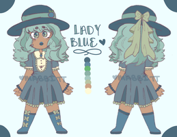 Lady Blue [Reference] by SolarRadiance