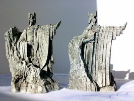Argonath Bookends 3 by Minas-Tirith-Hakan