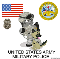 United States Military Police by FirstAwesomePlatoon