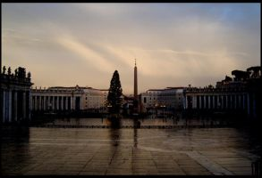 Piazza San Pietro II by StereoCatastrophe