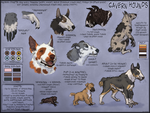 Cavern Hounds Species Sheet by Pred-Adopts