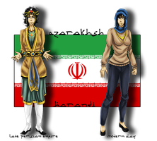 : APH - Fem!Persia / Iran by AskPersia