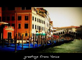 greetings from Venice... by malenka740715