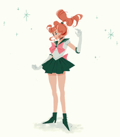 sailor jupiter by sachcell