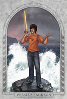 Percy Jackson by daPatches